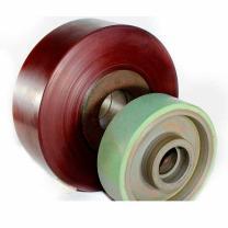 Revestimento de rodas em poliuretano